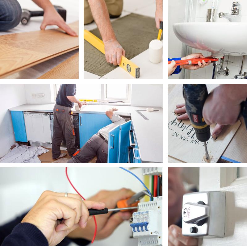 home improvements - decorators - painters - plasterers.